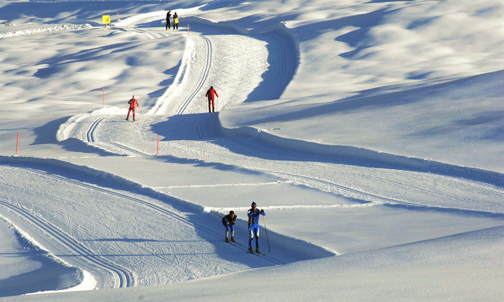 Fabulous tracks for cross-country skiers
