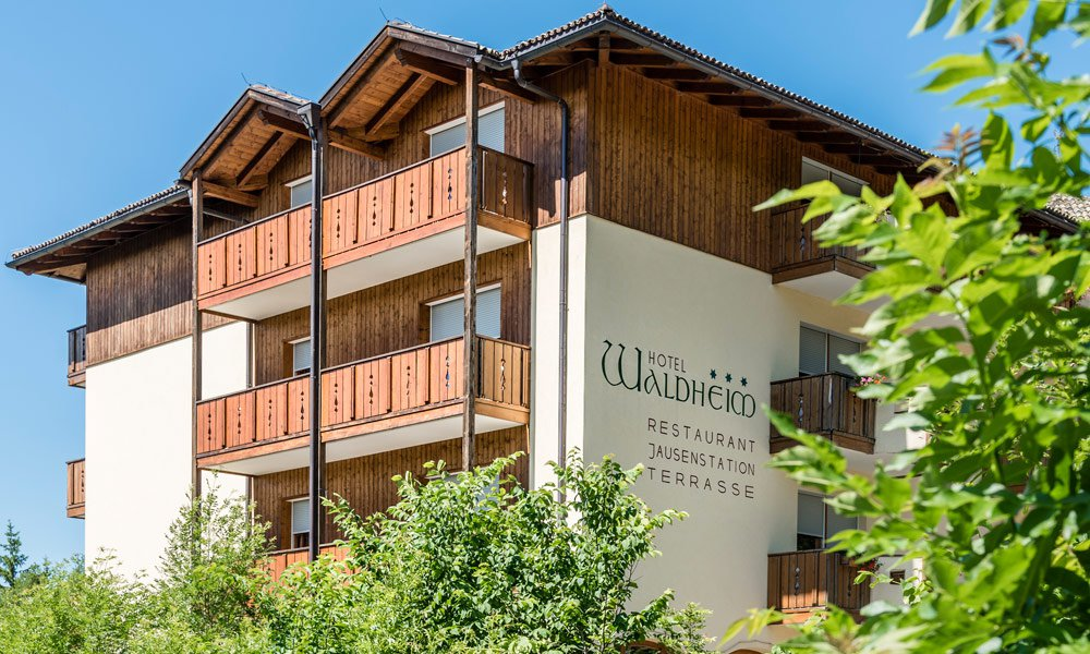 Hotel Waldheim – Your perfect bikers' hotel in the Dolomites