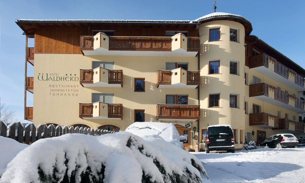 Visit our ski hotel in the Dolomites