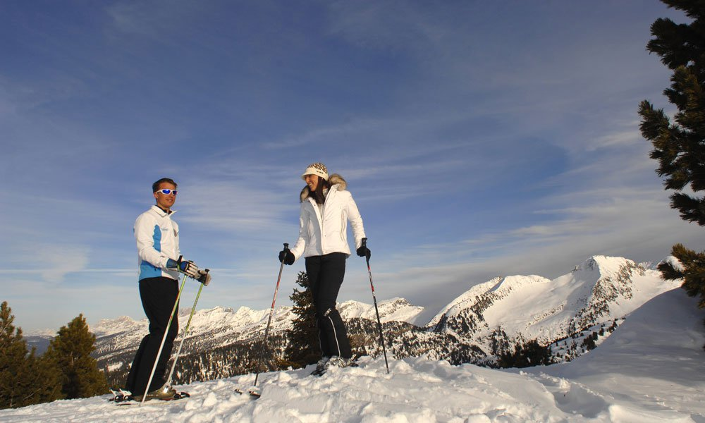 Ski tours in the region Latemar and Lagorai
